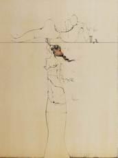 Paul WUNDERLICH - Estampe-Multiple - The song of sogns