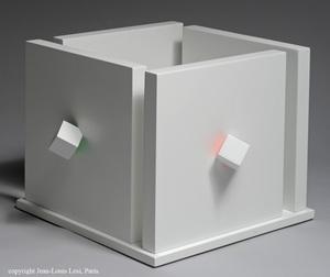Luis TOMASELLO - Print-Multiple - Cube atmosphére chromoplastique