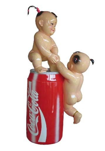 罗氏兄弟 - 雕塑 - Climbing on coke