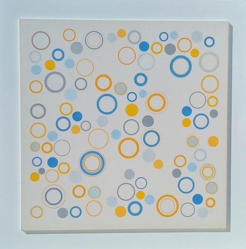 Antonio ASIS - Painting - geometria libre