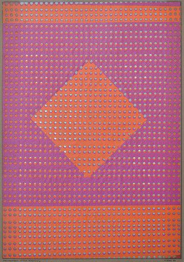 Alberto BIASI - Painting - Allineamenti ottico-dinamici