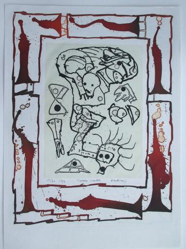 皮埃尔·阿列钦斯基 - 版画 - Terrain meublé