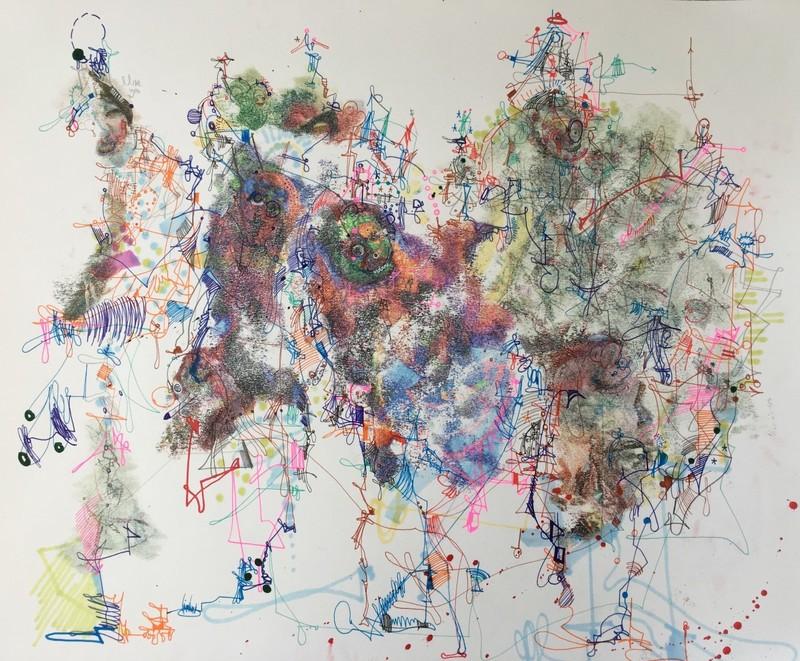 Michael ALAN - Drawing-Watercolor - Animal Breeding