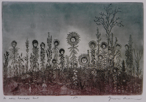 Arnold GROSS - Druckgrafik-Multiple - A non Withering Garden