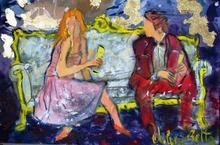 Valerio BETTA - Painting - Innamorati