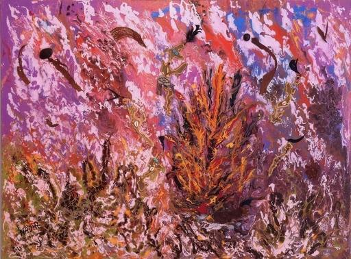 NADIA - Peinture - Les origines de la vie