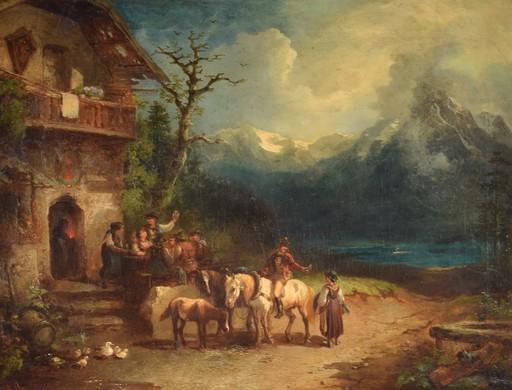 Karl I SCHWENINGER - Pintura - Sin titulo