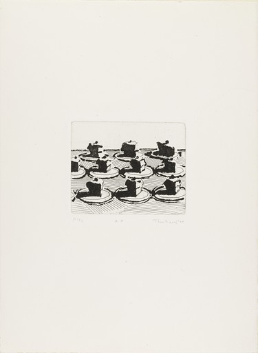 Morton Wayne THIEBAUD - Print-Multiple - Pies
