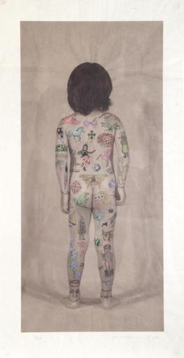 Jane HAMMOND - Print-Multiple - Body Language