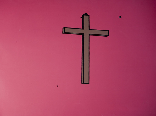 Patrick CAULFIELD - Print-Multiple - Crucifix
