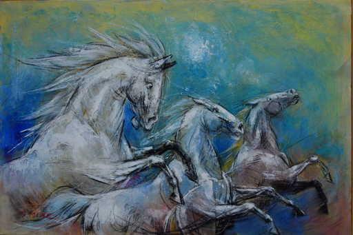 Pascal DABÈRE - Gemälde - Stellaire