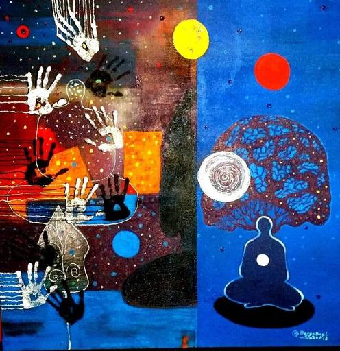 R.U. SUBAGIO - Painting - Meditation