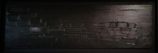 Elodie DOLLAT - Gemälde - Monochrome noir