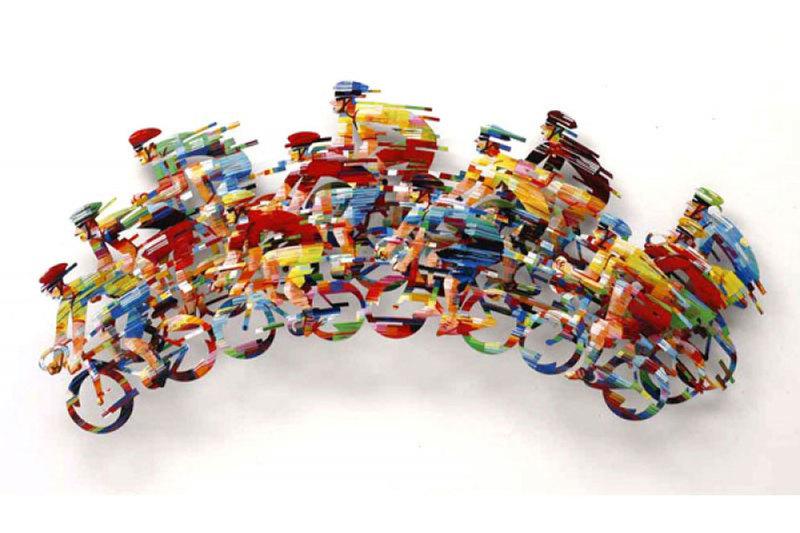 David GERSTEIN - Sculpture-Volume - Big Peleton Wave B