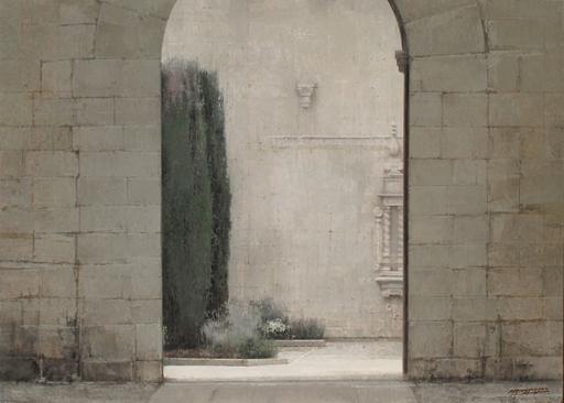 Carlos MORAGO FERNANDEZ - Painting - Monasterio