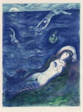Marc CHAGALL (1887-1985) - Pl.5 from 'Four Tales from the Arabian Nights'