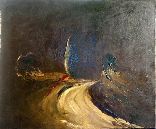 "LIPA - Peinture - ""Le Chemin"""