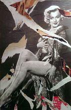 """Mimmo ROTELLA (1918-2006) - """"il cuore di Marilyn"""""""