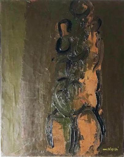 Ennio MORLOTTI - Gemälde - Senza titolo