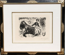 Marc CHAGALL - Print-Multiple - Le Garcon au Cheval (Boy with Horse)