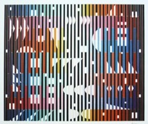 Yaacov AGAM - Grabado - Night Rainbow No. 1
