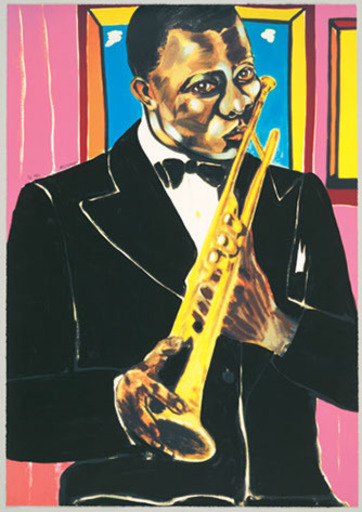 Frederick James BROWN - Print-Multiple - Louis Armstrong