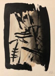 Nicolas DE STAËL - Drawing-Watercolor - untitled