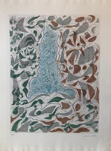 André MASSON - Print-Multiple - Hommage à Picasso