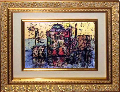 Franco ROGNONI - Gemälde - Venezia