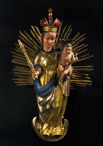 Hans GEILER - Escultura - Mondsichel - Madonna