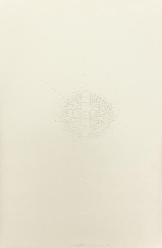 Hans BISCHOFFSHAUSEN - Disegno Acquarello - Papier Sculpte