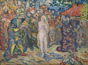 Louis VALTAT - Peinture - L'esclave blanche