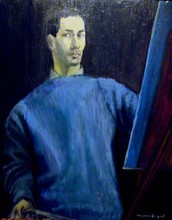 Jacques SEGAL - Pintura - AUTOPORTRAIT