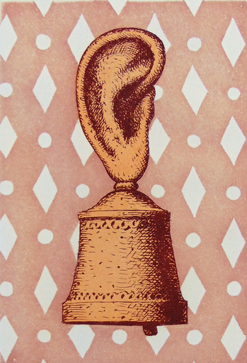 René MAGRITTE - Stampa Multiplo - The Music Lesson or The Sound of the Bell