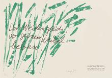 昆特•约克 - 版画 - Huldigung an Hafez Nr. 10