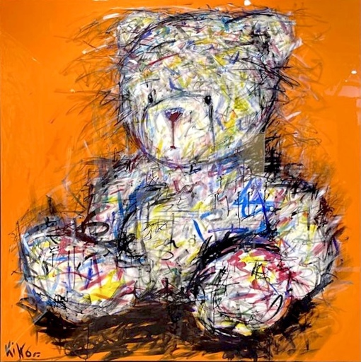 KIKO - Gemälde - L'Ourson