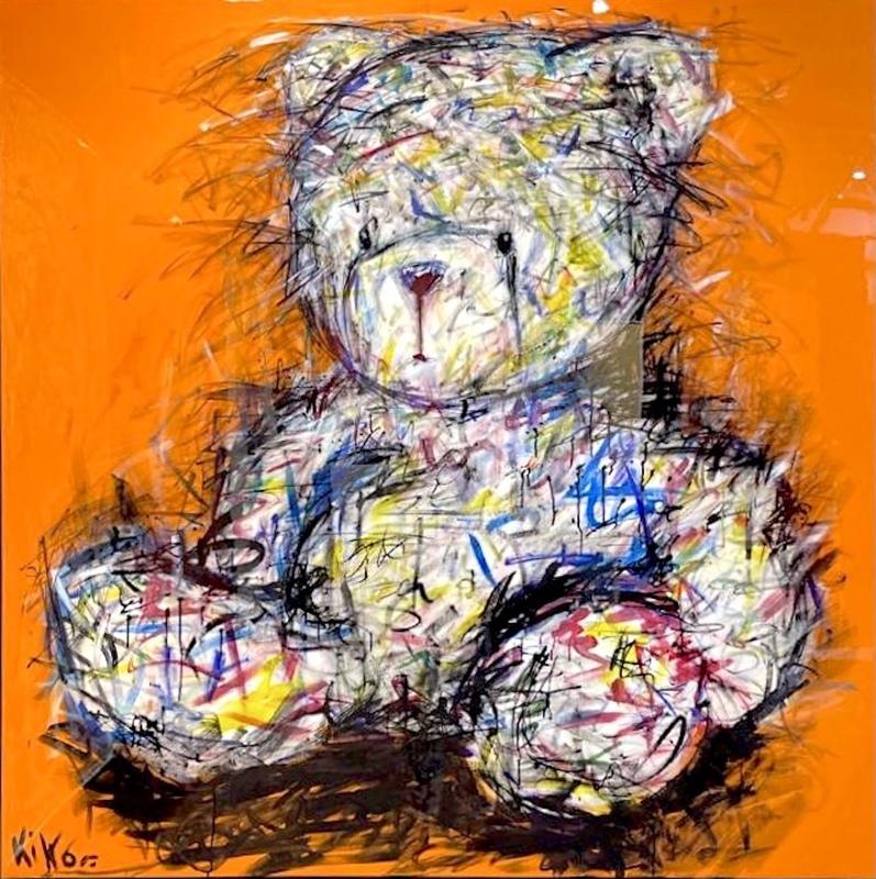 KIKO - Painting - L'Ourson