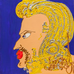 Isa SATOR - Peinture - Zorba le Grec    (Cat N° 6762)