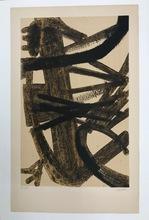 "Pierre SOULAGES - Stampa Multiplo - ""Peinture 1947"""