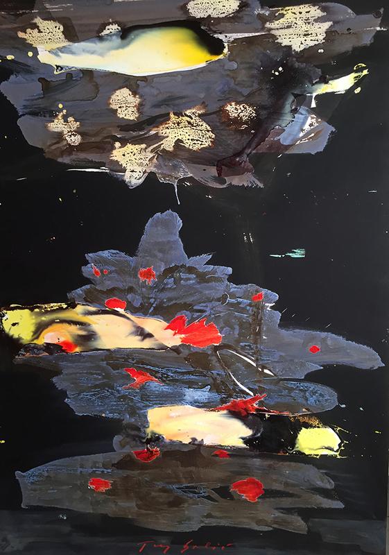 Tony SOULIÉ - 绘画 - Dreamed Flower XI