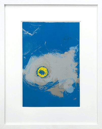 Otto PIENE - Estampe-Multiple - Die Insel - The Island