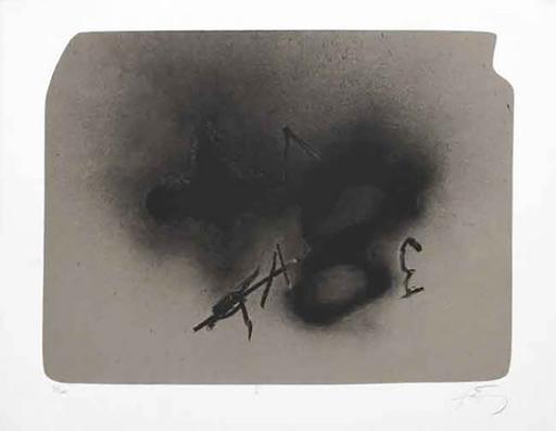 Antoni TAPIES - Print-Multiple - Erinnerungen