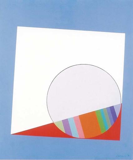 Eugenio CARMI - Peinture - Piccola finestra
