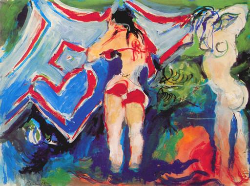 Édouard PIGNON - Pintura - Les dames du soleil