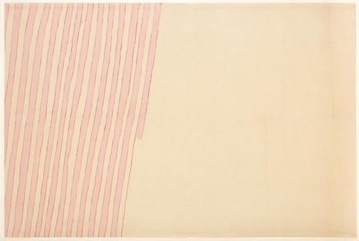 Giorgio GRIFFA - Pintura - LINEA DOPPIA