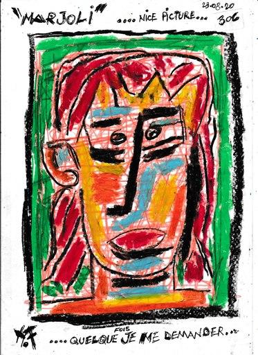 Harry BARTLETT FENNEY - Disegno Acquarello - marjoli