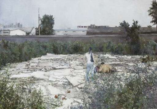 LI Dafang - Pittura - Ruins