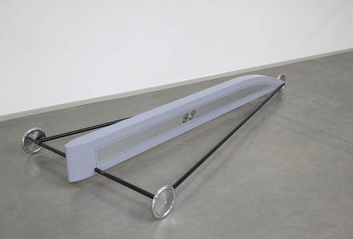 Gianni PIACENTINO - Sculpture-Volume - Gray Silver Black