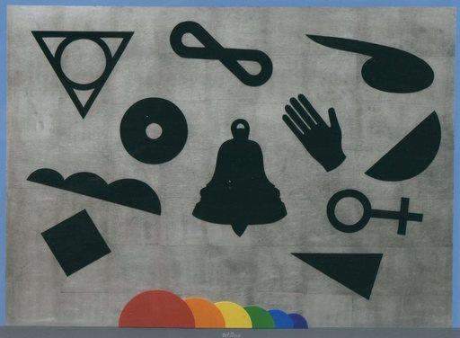 Lucio DEL PEZZO - Peinture - OMBRE E COLORI