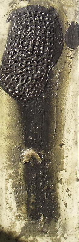 Darío ALVAREZ BASSO - Pittura - columna matérica